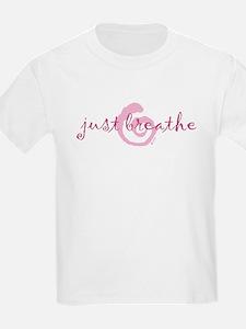 just breathe purple T-Shirt