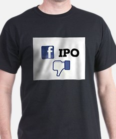 Facebook IPO Thumbs Down T-Shirt