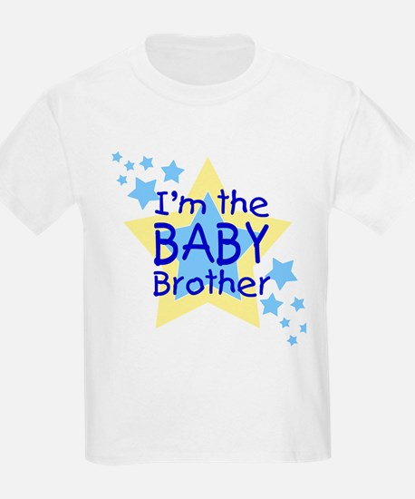 I'm the Baby Brother (Star) Kids T-Shirt
