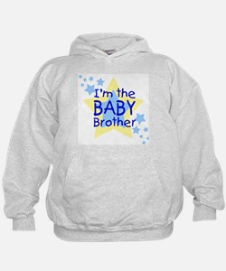 I'm the Baby Brother (Star) Hoodie