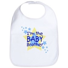 I'm the Baby Brother (Star) Bib