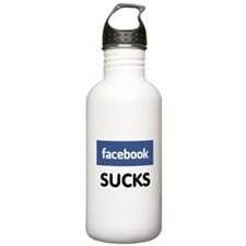 Facebook Sucks Water Bottle