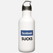 Facebook Sucks Water Bottle