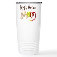 Bagle Hound Dog Mom Travel Mug