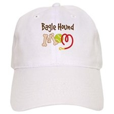 Bagle Hound Dog Mom Baseball Cap