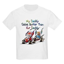 Sprint Car Fanatic Kids Slider T-Shirt
