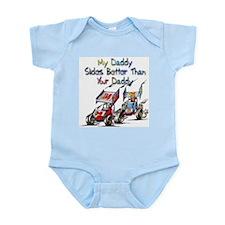 Sprint Car Fanatic Infant Creeper