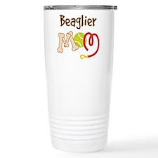 Beaglier Dog Mom Travel Mug