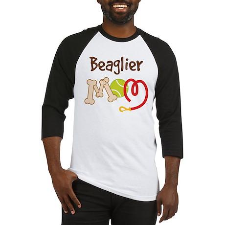 Beaglier Dog Mom Baseball Jersey