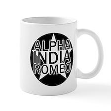 AIR - Black & White Star Mug