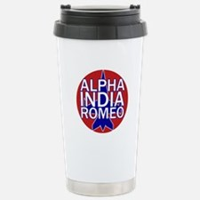 AIR - Red White & Blue Jet Travel Mug