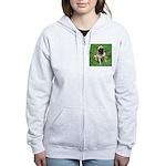 Cute Pug Women's Zip Hoodie
