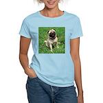 Cute Pug Women's Light T-Shirt