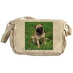 Cute Pug Messenger Bag