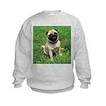 Cute Pug Kids Sweatshirt