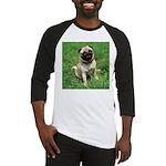 Cute Pug Baseball Jersey