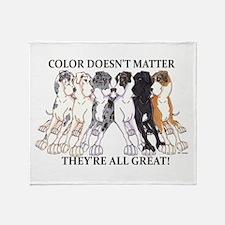 N Pet All Great Throw Blanket