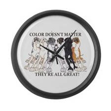 N Pet All Great Large Wall Clock