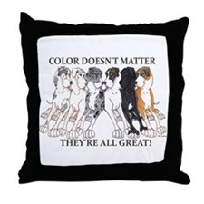 N Pet All Great Throw Pillow