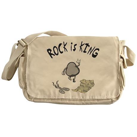 Rock is King Messenger Bag