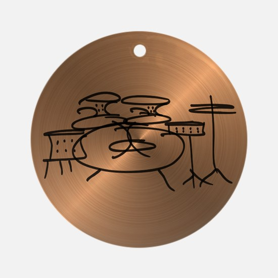Cymbal Ornament (Round)