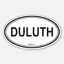 Duluth (Minnesota) Oval Decal