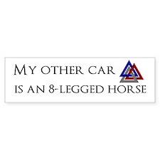 My other car is an 8-legged horse