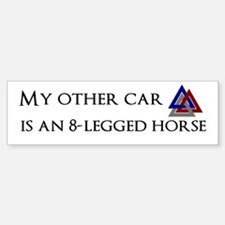 My other car is an 8-legged horse
