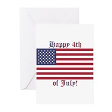 Happy 4th of July Greeting Cards (Pk of 10)
