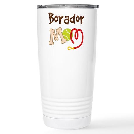 Borador Dog Mom Stainless Steel Travel Mug