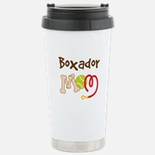 Boxador Dog Mom Travel Mug