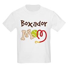 Boxador Dog Mom T-Shirt