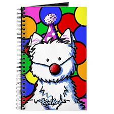 Birthday Westie Journal