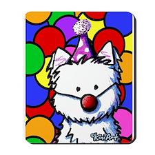 Birthday Westie Mousepad