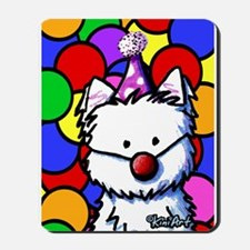 Birthday Westie Mousepad
