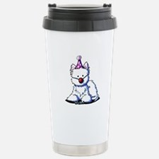 Birthday Westie Travel Mug