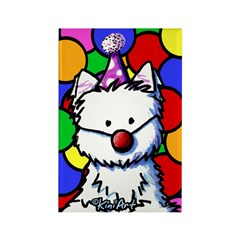 Birthday Westie Rectangle Magnet (100 pack)