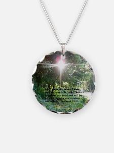 Sunbeam of Hope/Scripture Necklace
