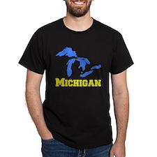 A Maize and Blue T-Shirt