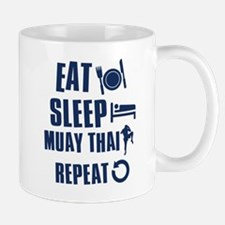 Eat Sleep Muay Thai Mug
