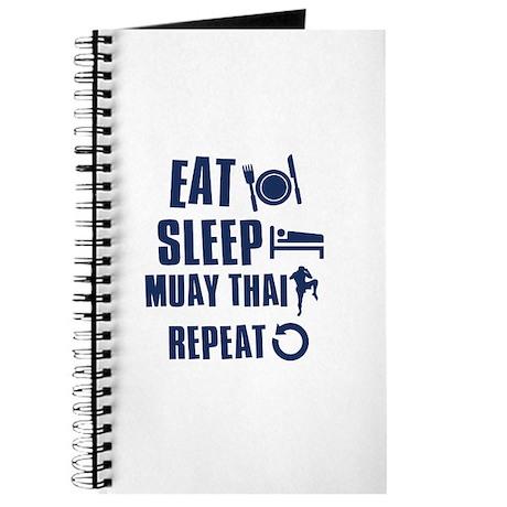Eat Sleep Muay Thai Journal