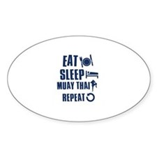 Eat Sleep Muay Thai Decal