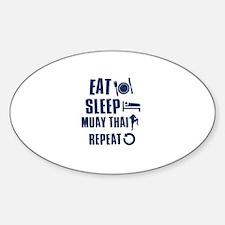 Eat Sleep Muay Thai Decal