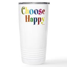 Choose Happy Travel Mug