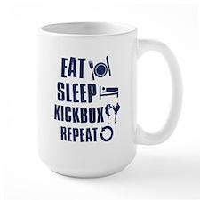 Eat Sleep Kickbox Mug