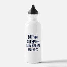 Eat Sleep Krav Maga Water Bottle
