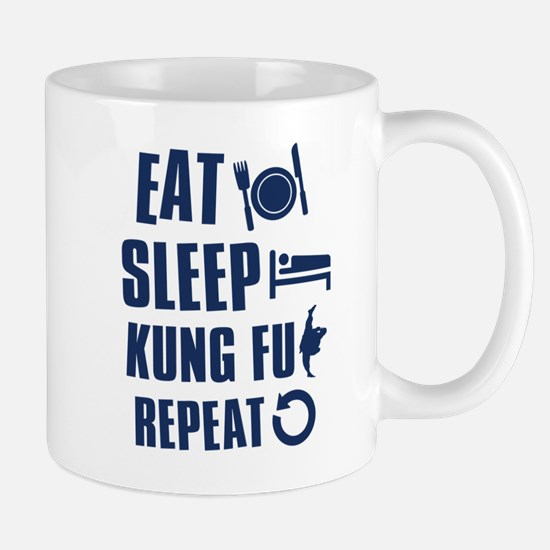 Eat Sleep Kung Fu Mug