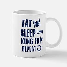 Eat Sleep Kung Fu Small Small Mug