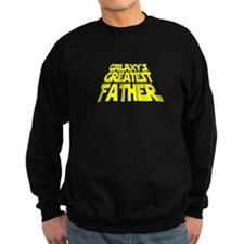 Galaxy's Greatest Father Sweatshirt