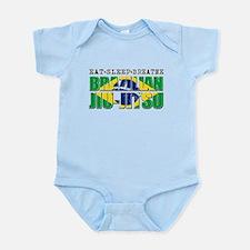Eat Sleep Brazilian Jiu Jitsu Infant Bodysuit